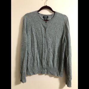 Lord & Taylor 100% Cashmere Cardigan